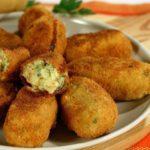 Crocchè di patate e friarielli al forno